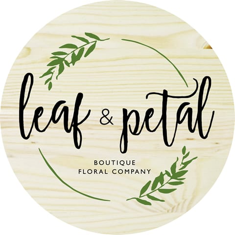 leaf and petal logo