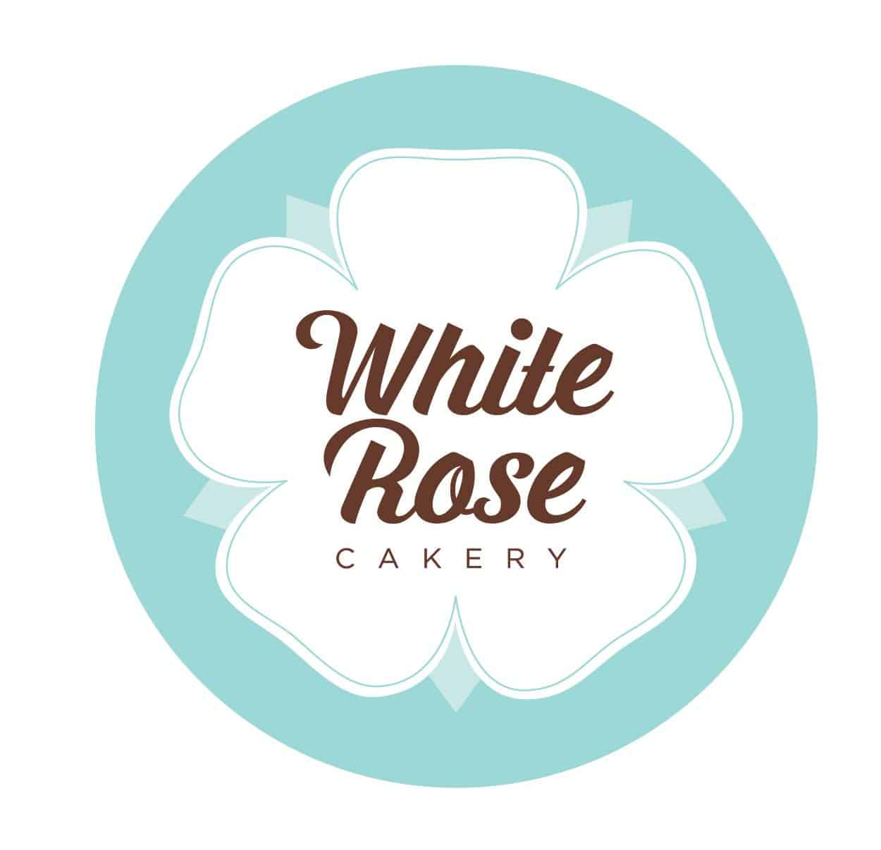 white rose cakery logo